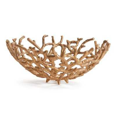 Root Metal Basket - Wayfair