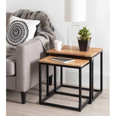 Teena 2 Piece Nesting Tables - Wayfair