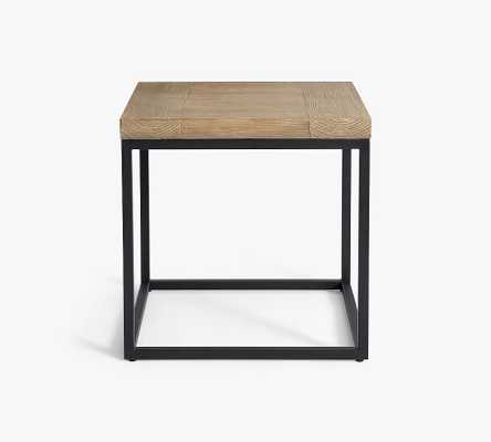 Malcolm Outdoor Square Side Table - Pottery Barn