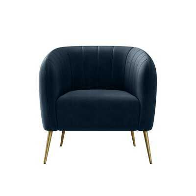 Dany 28'' W Tufted Barrel Chair - Wayfair