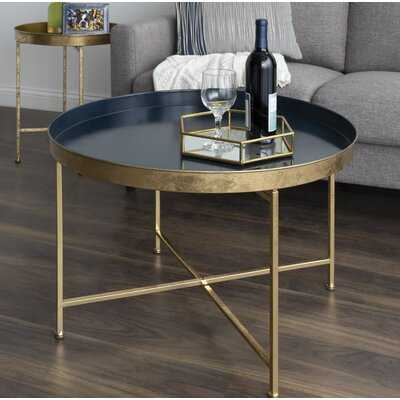 Blaylock Cross Legs Coffee Table - Wayfair