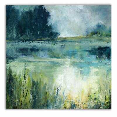 'Reflections Edge' - Painting Print - Wayfair