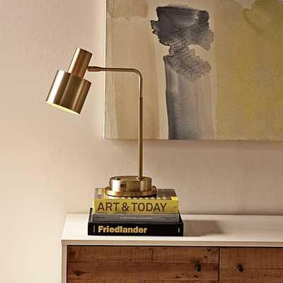 Springhill Suites Cylinder Task Lamp - West Elm