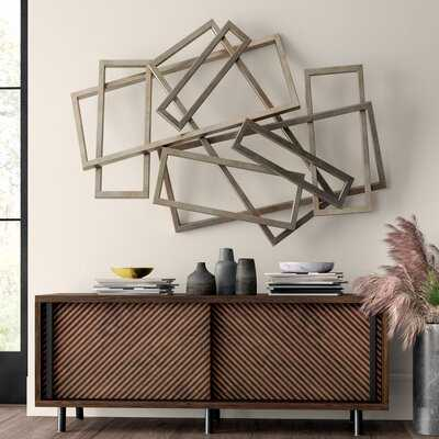 Rectangles Iron Wall Décor - AllModern