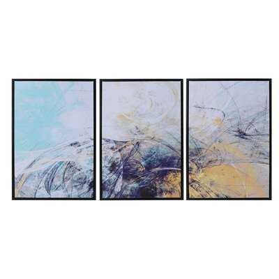 3 Piece Picture Frame Painting Print Set - Wayfair