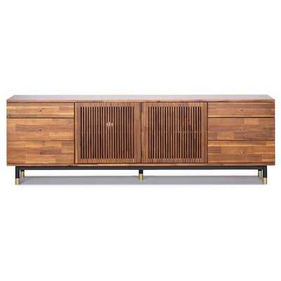 Manolla Solid Wood TV Stand for TVs up to 88 inches - Wayfair
