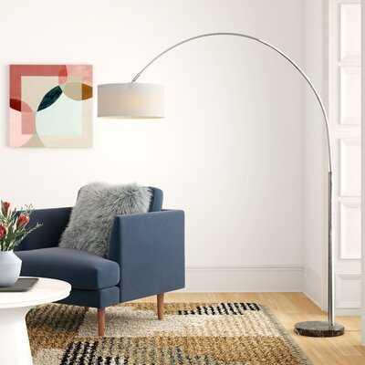 "Paul 81"" Arched Floor Lamp - AllModern"