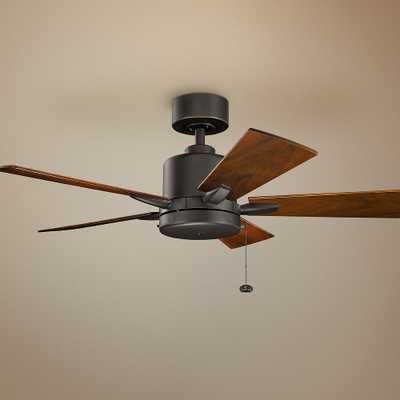"""42"""" Kichler Bowen Olde Bronze Ceiling Fan - Style # 73W28 - Lamps Plus"""