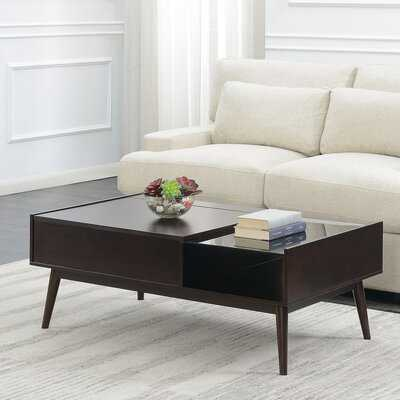 Ibrahim Coffee Table with Storage - Wayfair