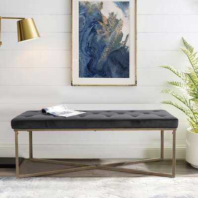 Kennardi Upholstered Bench - Wayfair