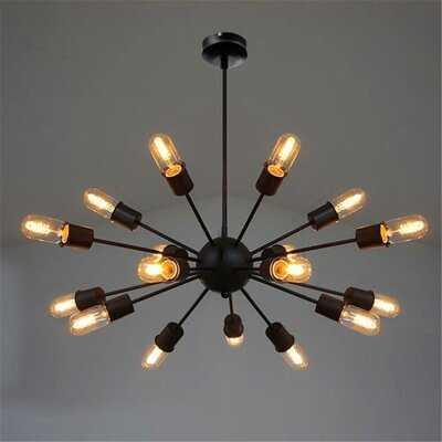 Dimmick 18-Light Sputnik Modern Linear Chandelier - Wayfair