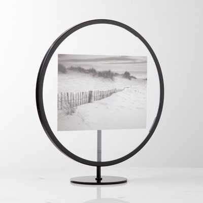 Infinity 5x7 Round Picture Frame - Crate and Barrel