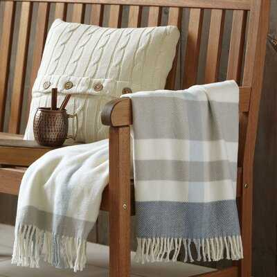 Arlean Striped Throw - Birch Lane