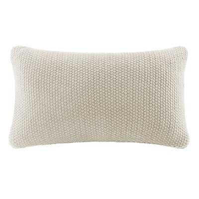 Winnsboro Knit Lumbar Pillow Cover - Birch Lane
