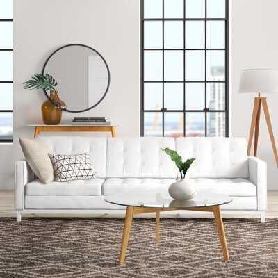 Davy Leather Sofa - AllModern