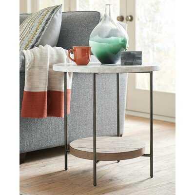Ayslyn End Table with Storage - Wayfair
