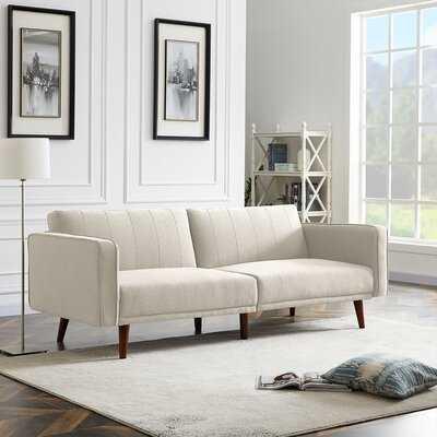 "Rosehill 85.43"" Wide Square Arm Convertible Sofa - Wayfair"
