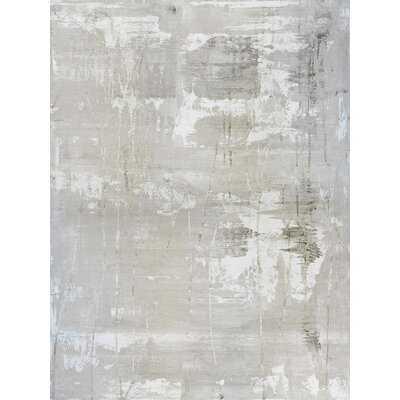 White On White II by John Beard - Wrapped Canvas Painting Print - Wayfair