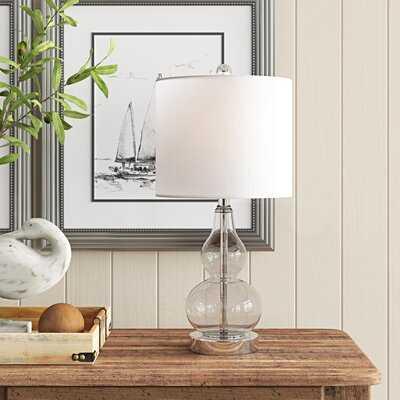 """Jeremy Glass 21"""" Table Lamp - Birch Lane"""