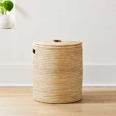 Wooden Handle Hamper Medium - West Elm