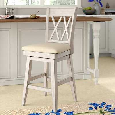 Hussey Swivel Bar & Counter Stool - Wayfair