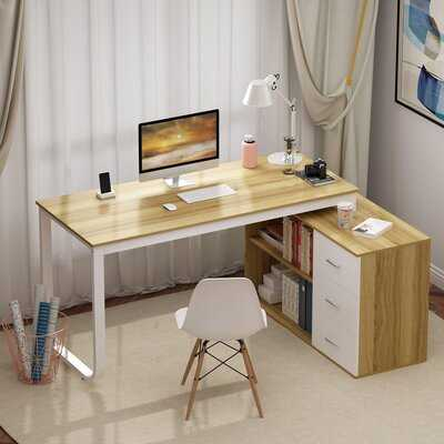 Jimme L-Shaped Desk - Wayfair
