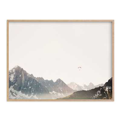 """Altitude Framed Art by Minted(R), Natural, 30""""x40"""" - Pottery Barn Teen"""