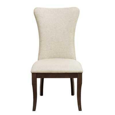 Alejandrino Upholstered Side Chair in Off White (Set of 2) - Wayfair