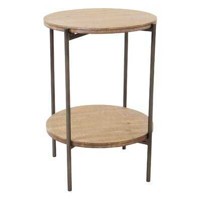 Albany End Table with Storage - Wayfair