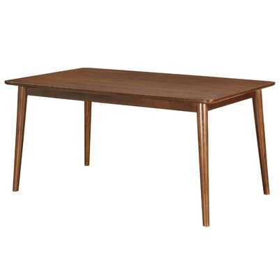 Yeary Mid-Century Modern Rectangular Dining Table - Wayfair