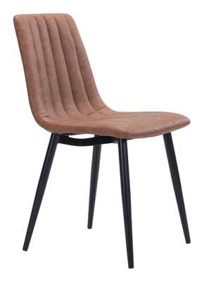 Dolce Dining Chair (Set of 2) Brown - Zuri Studios