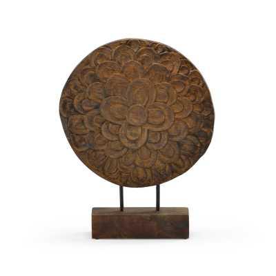 Wildwood Floral Disc Sculpture - Perigold