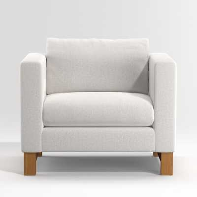 Pacific Chair with Wood Legs - Crate and Barrel