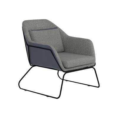 "Guilliams 27.5"" W Faux Leather Armchair - Wayfair"