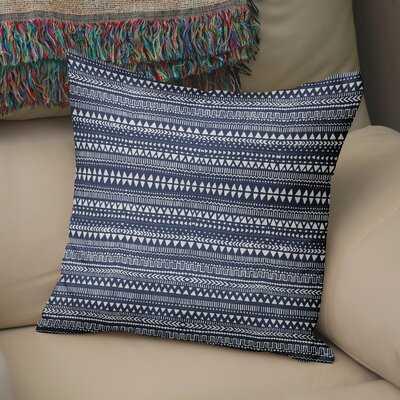 Byrne Cotton Geometric Pillow Cover & Insert - Wayfair