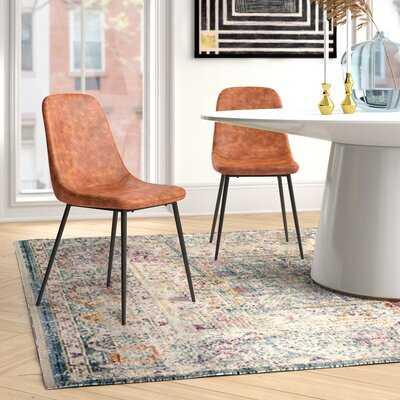 Kori Upholstered Side Chair (Set of 2) - Wayfair
