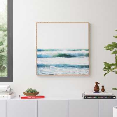 Ride Waves' Framed Photographic Print by Bree Madden - Picture Frame Photograph Print - AllModern