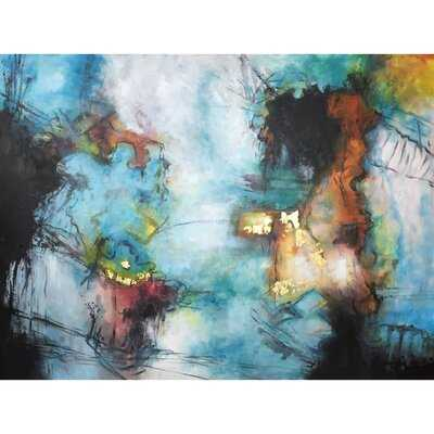 Abstract Painting - Unframed Painting on Canvas - Wayfair
