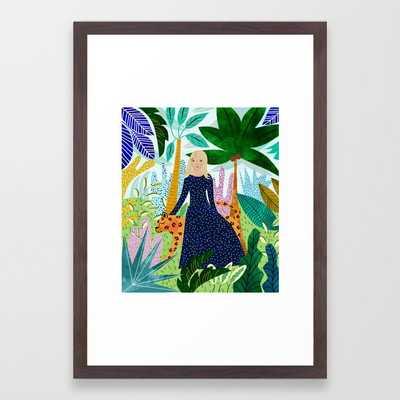 Safari #society6 #decor #buyart Framed Art Print by 83 Orangesa(r) Art Shop - Conservation Walnut - SMALL-15x21 - Society6