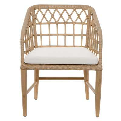 Andorra Rattan Dining Chair   - Ballard Designs - Ballard Designs
