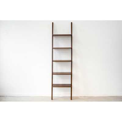 From the Source Finn LadderBookcase Color: Tinted Teak - Perigold