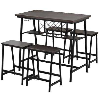 Anaiyah 5 - Piece Counter Height Dining Set - Wayfair