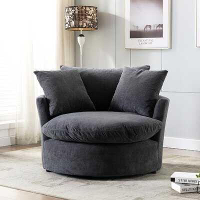 Cesley Swivel Barrel Chair - Wayfair