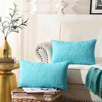 Culpeper Indoor / Outdoor Floral Pillow Cover - Wayfair