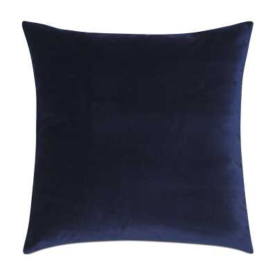 Eastern Accents Studio 773 Velvet Feathers Throw Pillow Color: Navy - Perigold