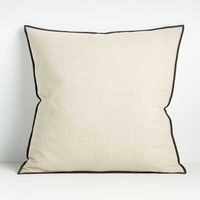 Ori Moonbeam 23? Pillow with Feather-Down Insert - Crate and Barrel