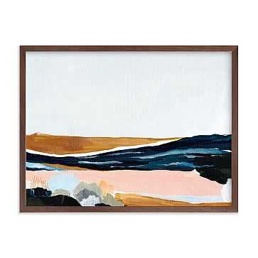 "Sandpit, Full Bleed 24""x18"", Walnut Wood Frame - West Elm"