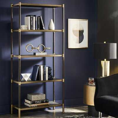 Beckham Etagere Bookcase - Wayfair
