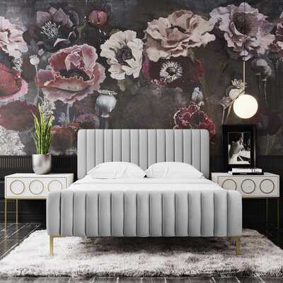 Elysian Upholstered Platform Bed - Wayfair