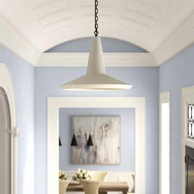 Sarreid Ltd Cement Hanging Bell Pendant - Perigold